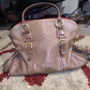 Dooney and Burke satchel, purse, tote